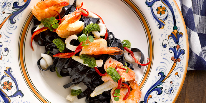 Squid Ink Pasta from Pete
