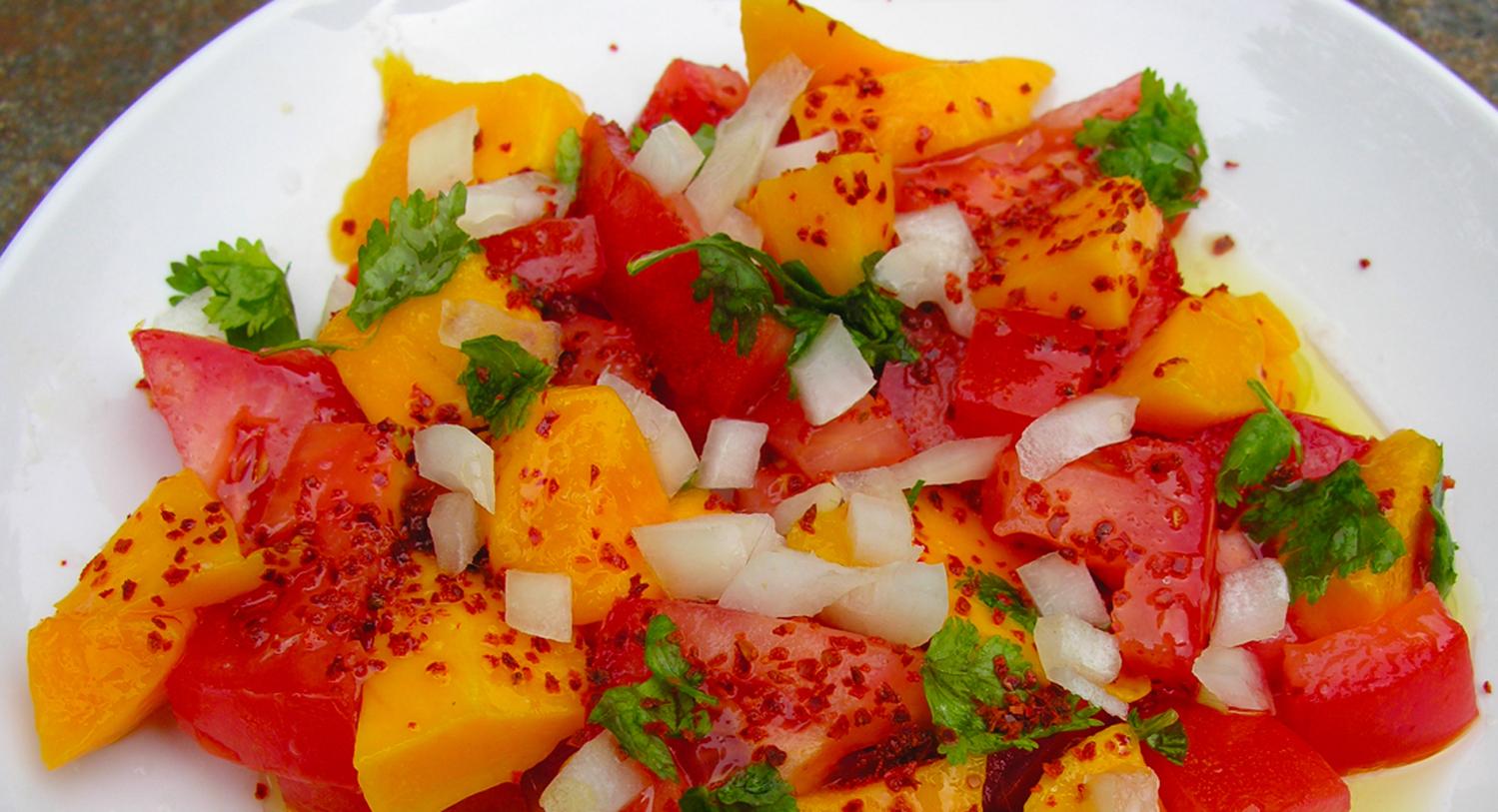 Mango Tomato Salad
