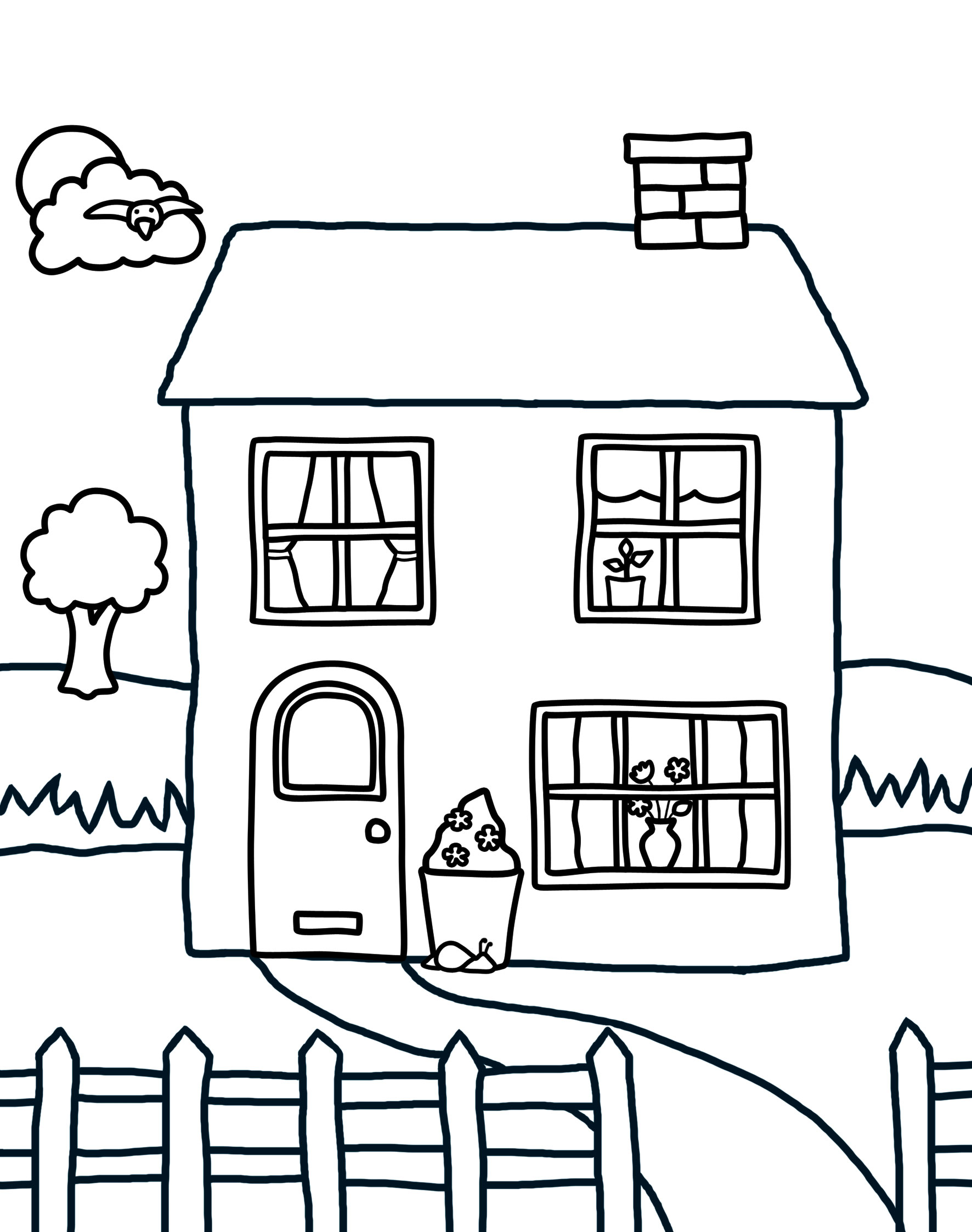 Download And Print Colouring At Home