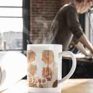 Personalised Text Photo Mug