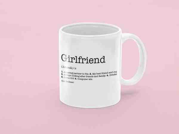 Girlfriend Dictionary Definition Mug