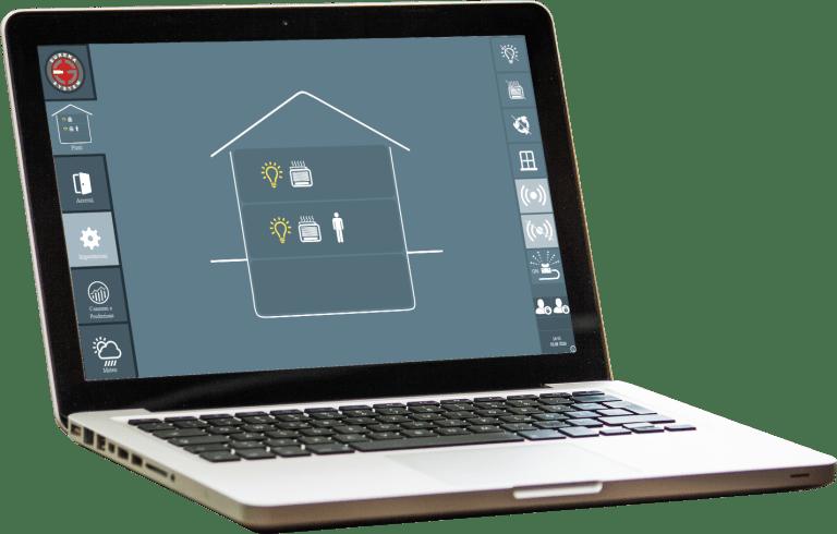 Comfort ambienti in Domusys BMS software di smart building di Eureka System