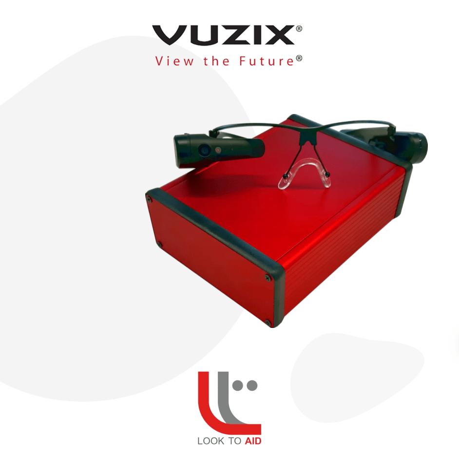 Look to Aid per smart glasses Vuzix