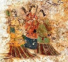 高松塚古墳の壁画
