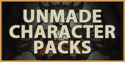 Unmade Character Pack