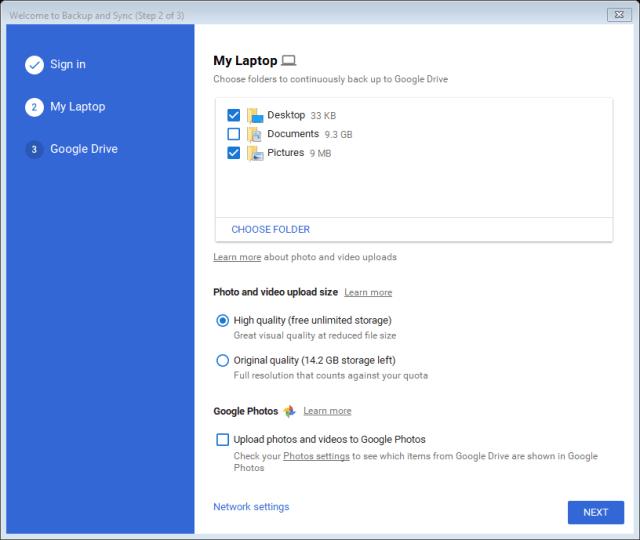 Using Google Drive for Data Backup