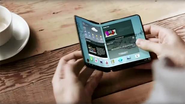 Samsung is looking to releasing a foldable smartphone by 2018