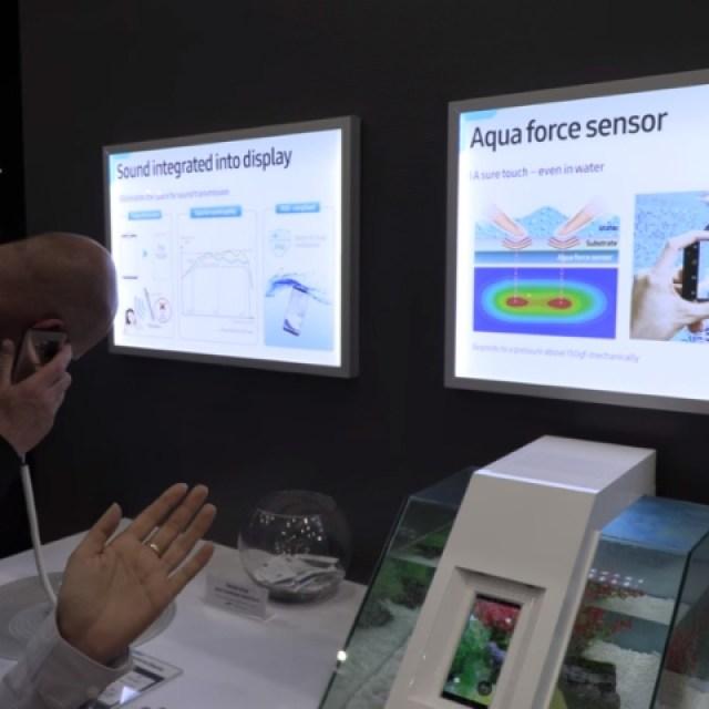 三星展示SoD螢幕發聲技術 傳Galaxy S10可能採用