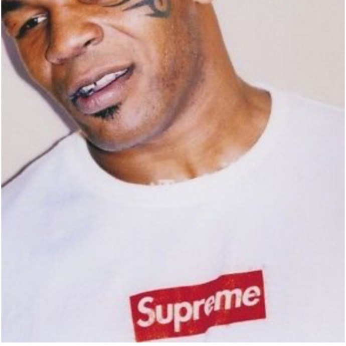 Supreme X Mike Tyson Poster Brand Outfit Supreme