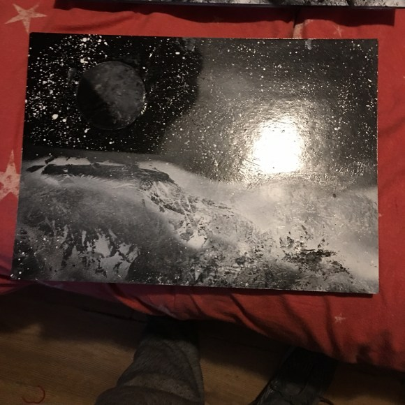 Spray Paint Art Planet For Sale