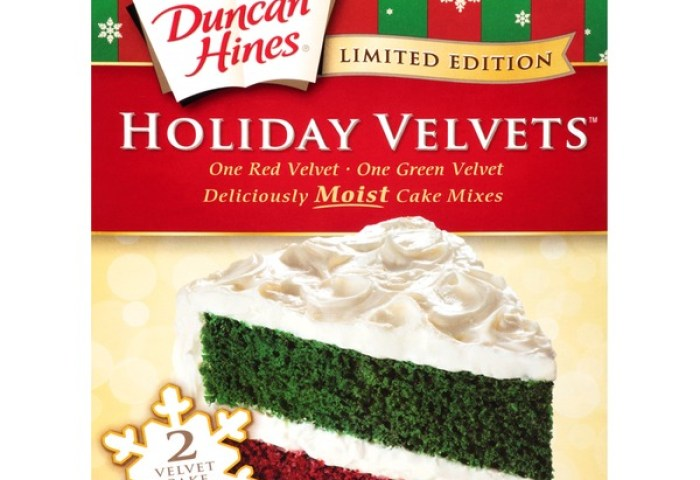 Duncan Hines Holiday Velvets Moist Cake Mixes 176 Oz From Cub