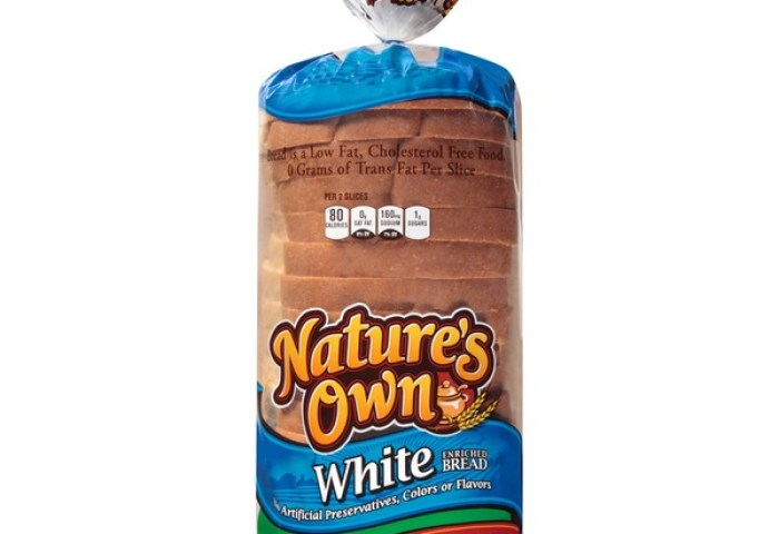 Natures Own Enriched White Bread 16 Oz From Kroger Instacart