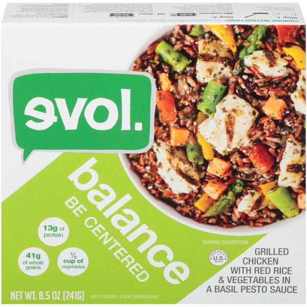 Evol Foods Balance Chicken With Rice Evol Balance Grilled Chicken