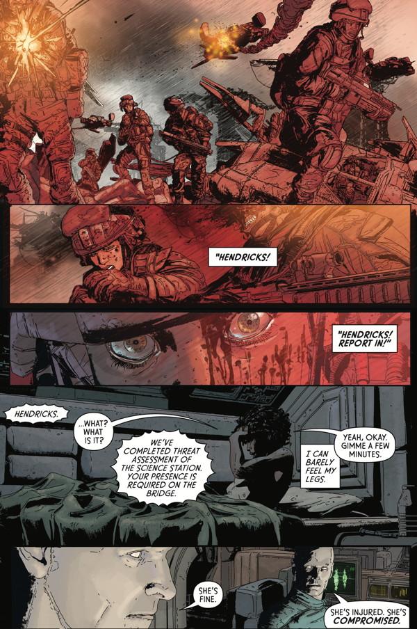 Aliens Defiance 2 Profile Dark Horse Comics