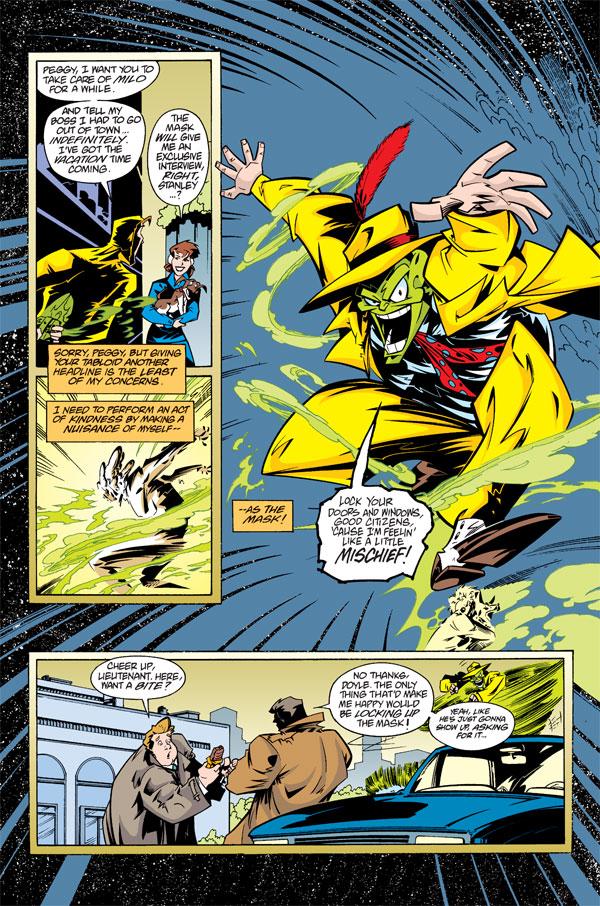 Adventures Of The Mask Omnibus Profile Dark Horse Comics