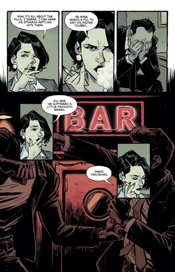 Fight Club 2 1 Profile Dark Horse Comics