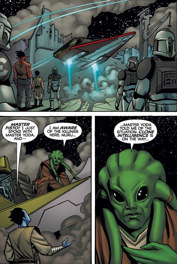 Star Wars The Clone Wars Strange Allies Profile