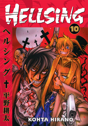 Hellsing Volume 10 TPB Profile Dark Horse Comics