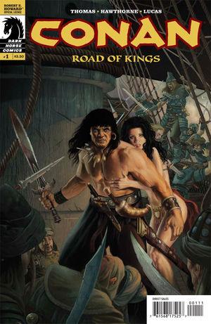 Conan The Road Of Kings 1 Doug Wheatley Cover