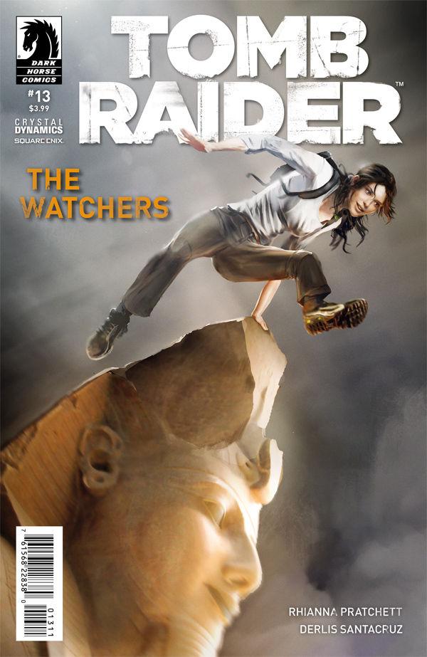 Tomb Raider 13 Profile Dark Horse Comics