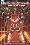 Micronauts Wrath Of Karza #3 (of 5) (Retailer 10 Copy Incentive Variant Cover Edition)