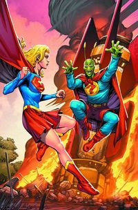 Convergence Supergirl Matrix #2