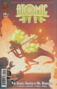 Atomic Robo Savage Sword Of Dr Dinosaur #5 (of 5)