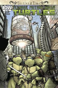 Teenage Mutant Ninja Turtles Turtles In Time #4 (of 4)