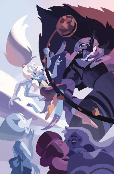 JAN191403 First Look at BOOM! Studios' STEVEN UNIVERSE FUSION FRENZY #1