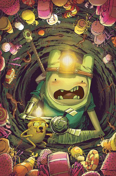 JAN191411 ComicList Previews: ADVENTURE TIME SEASON 11 #6
