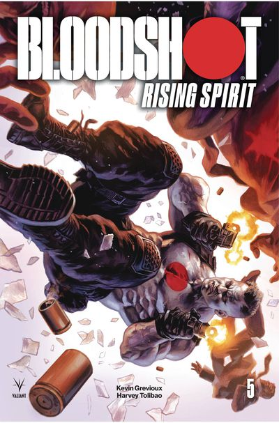 JAN192191 ComicList Previews: BLOODSHOT RISING SPIRIT #5