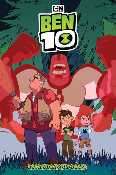 NOV181314 ComicList Previews: BEN 10 THE TRUTH IS OUT THERE GN