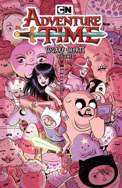 NOV181361 ComicList Previews: ADVENTURE TIME SUGARY SHORTS VOLUME 5 TP