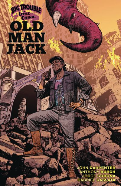 OCT181269 ComicList Previews: BIG TROUBLE IN LITTLE CHINA OLD MAN JACK VOLUME 3 TP