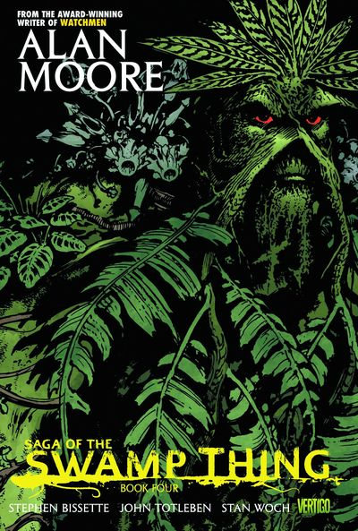 Saga of the Swamp Thing Book 4 Cover