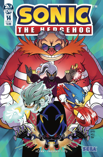 dec180703 ComicList Previews: SONIC THE HEDGEHOG #14