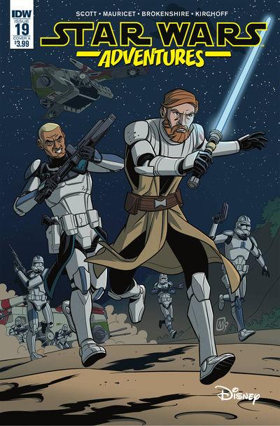 dec180723 ComicList Previews: STAR WARS ADVENTURES #19
