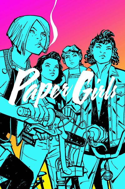Paper Girls Vol. 1 Cover