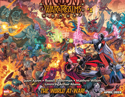 jan190870 WAR OF THE REALMS launch trailer revealed at C2E2