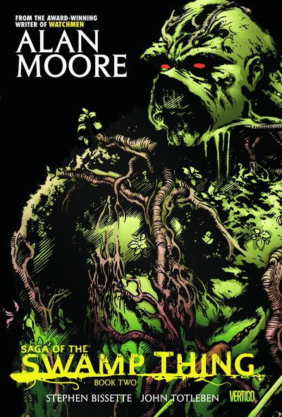 Saga of the Swamp Thing Book 2 Cover
