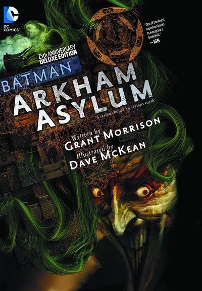 Batman: Arkham Asylum – A Serious House on Serious Earth Cover