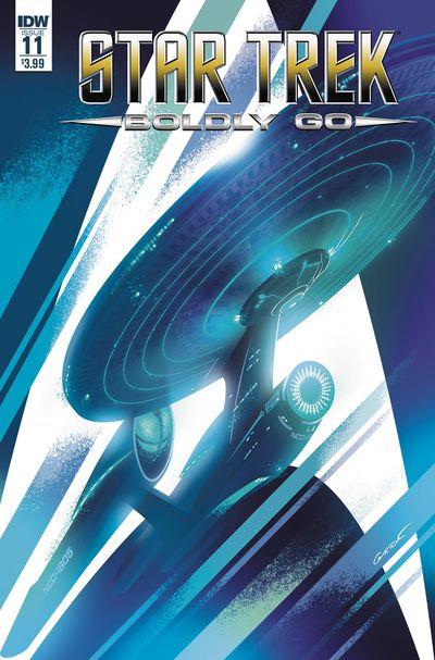 Star Trek Boldly Go #11 (Cover A - Caltsoudas)