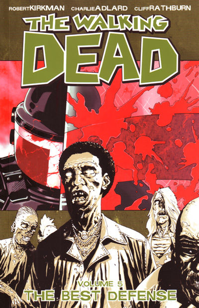 The Walking Dead TPB Vol. 5: Best Defense Cover