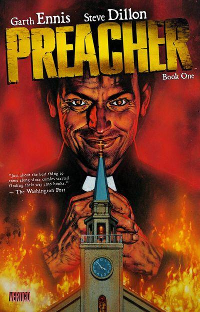 Preacher Vol. 1 Cover
