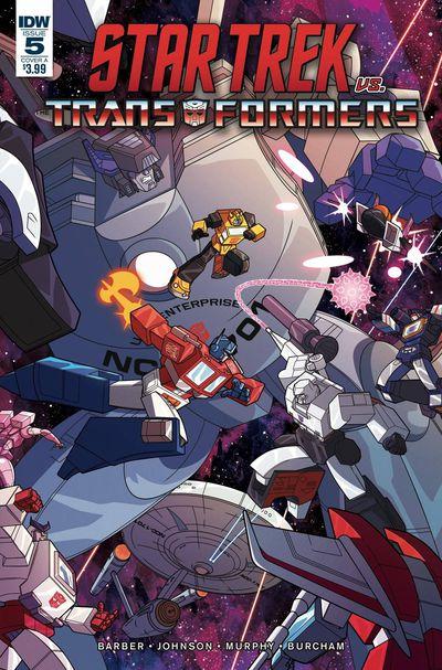 nov180672 ComicList Previews: STAR TREK VS TRANSFORMERS #5