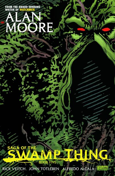 Saga of the Swamp Thing Book 5 Cover