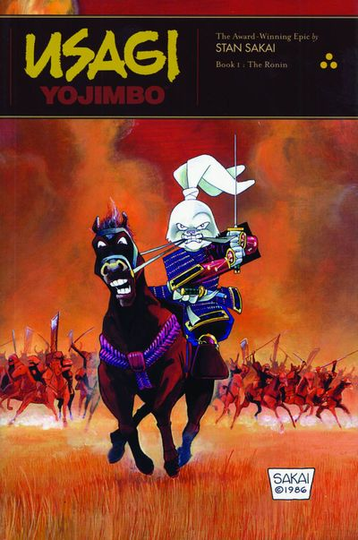 Usagi Yojimbo Vol. 1: The Ronin Cover