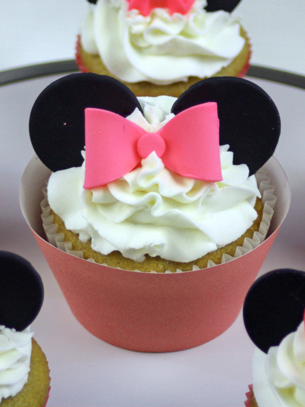 Minnie Mouse Cupcakes A Step By Step How To