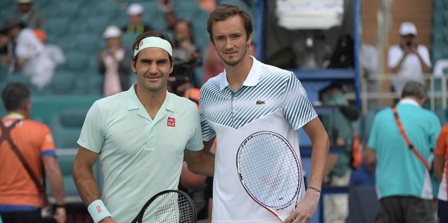 """Daniil Medvedev confesses to """"hating"""" Roger Federer as a ..."""