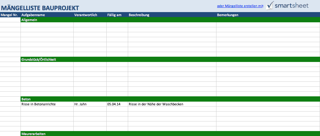 Project Time Management Template